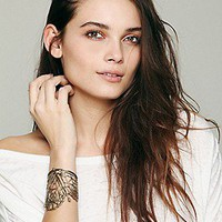 BING BANG  Sacred Geometry Cuff at Free People Clothing Boutique