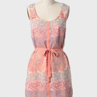 Painted Sky Sash Belt Dress at ShopRuche.com