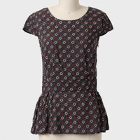 Modern Gal Printed Peplum Blouse at ShopRuche.com