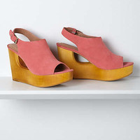 Anthropologie - Keyhole Slingback Wedges