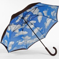 Fiberglass Black Sky Print Double Cover Lotus Umbrella:Amazon:Everything Else