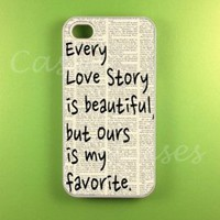Iphone 4s Case - Our Story Iphone Case, Iphone 4 Case:Amazon:Cell Phones & Accessories