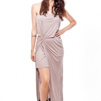 Double-Layer Strapless Dress Halston Heritage | Rad and Refined