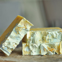 Orange Cedarwood Ylang soap - vegan shea butter - Sweet Marigold