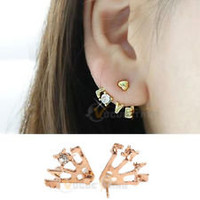 Korean Earrings in Fashion Earrings | eBay