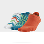 Check it out. I found this Nike Graphic No-Show Socks (3 Pair) at Nike online.