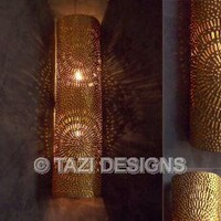 Moroccan Decorative Wall Lights  Tazi Designs
