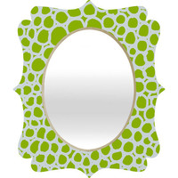 DENY Designs Home Accessories | Paula Ogier Seafoam Green Quatrefoil Mirror
