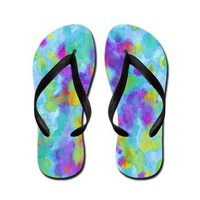Like the Wind Flip Flops> Flip Flops> art by Erin Jordan