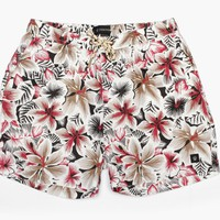 Zanerobe - Men's Biscus Swim Trunk (Floral)
