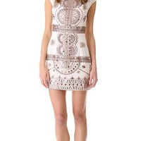 Renzo + Kai Embellished Cap Sleeve Dress | SHOPBOP