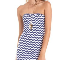 Cutout Back Body-Con Tube Dress: Charlotte Russe