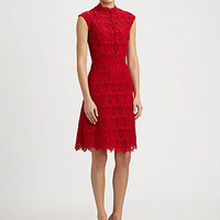 Valentino - Macramé Lace Dress
