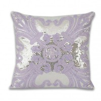 Ludo Sequin Pillow