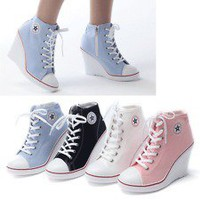 sneakers wedge | eBay