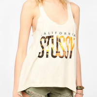 Stussy California High/Low Tank Top