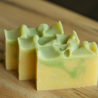 Bamboo Lemongrass soap -  vegan, natural and handmade