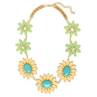Daisy Dream Necklace | Jeweliq Statement Necklaces