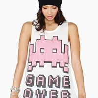 Game Over Muscle Tee