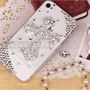 crystal cross iphone 4s cases,bling bling iphone 5 case, handmade iphone 4 cover cases