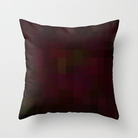 Re-Created Colored Squares No. 41 Throw Pillow by Robert Lee