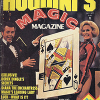 Houdini's Magic Magazine October 1977, Inside Star Wars, Derek Dingle, Diana the Enchantress, Ricky Jay,