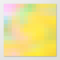 Re-Created Colored Squares No. 36 Stretched Canvas by Robert Lee