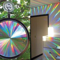 Rainbow Axicon Window Suncatcher - $21