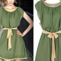 Chiffon dress of da