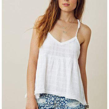 Free People All Stars Alligned Top