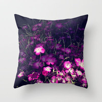 catching the light Throw Pillow by Marianna Tankelevich
