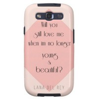 young & beautiful galaxy SIII cases from Zazzle.com