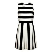 Inverted Stripe Dress