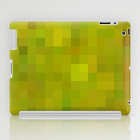 Re-Created Colored Squares No. 38 iPad Case by Robert Lee