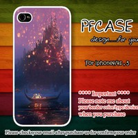 Tangled and Lanterns : Case For Iphone 4/4s ,5 / Samsung S2,3,4