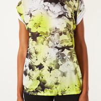 Floral Photo Tee - Jersey Tops - Clothing - Topshop USA