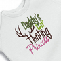 Daddy's Little Hunting Princess Onesuit Creeper Bodysuit  Embroidered Girl