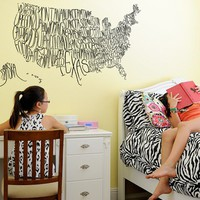 Blik Wall Decal - United Shirt of America