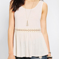 Urban Outfitters - Pins And Needles Daisy Crochet Tank Top