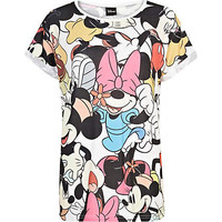 White Mickey Mouse print t-shirt - print t-shirts / vests - t shirts / vests / sweats - women