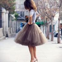 How to : wear the perfect Tulle Tutu Skirt