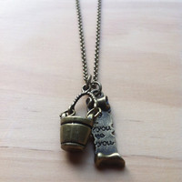 "The ""Bucket List"" Necklace"