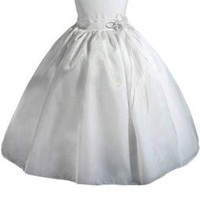 AMJ Dresses Inc Girls White Flower Girl Communion Dress Sizes 2 to 12:Amazon:Clothing