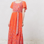 Blushed Paisley Maxi Dress