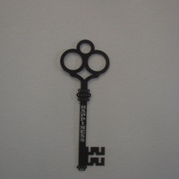 Key To Happiness 16 Gauge Metal Wall Art