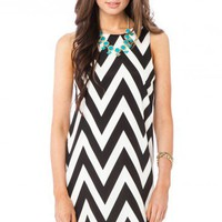 Forever Zig Zag Tank Shift in Classic - ShopSosie.com
