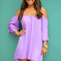 Love Me Forever Lace Dress: Purple | Hope's