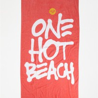 Swept Away Beach Towel