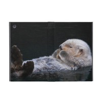 Cute Sea Otter Cover For iPad Mini from Zazzle.com