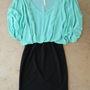Fairweather Dress in Mint [3848] - $42.00 : Vintage Inspired Clothing & Affordable Summer Frocks, deloom | Modern. Vintage. Crafted.